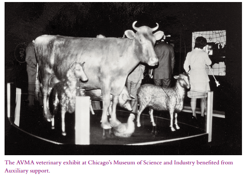 AVMA veterinary exhibit at Chicago's Museum of Science and Industry
